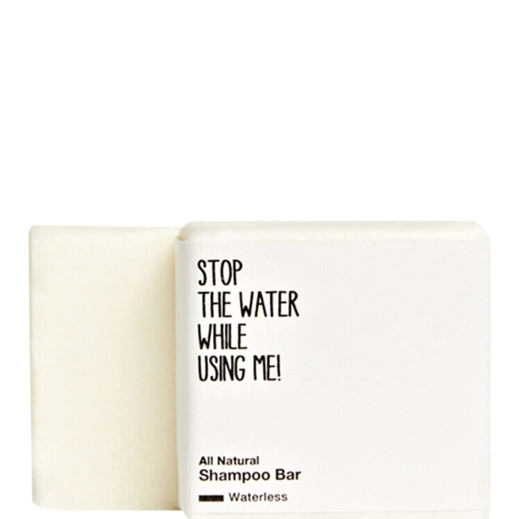 Shampoo Bar Stop the Water while using me