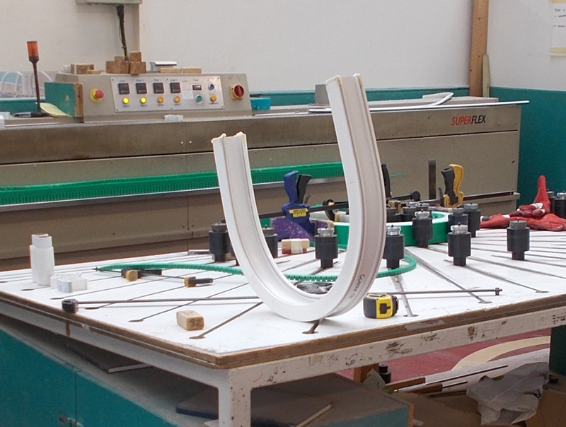 Health and safety profile bending