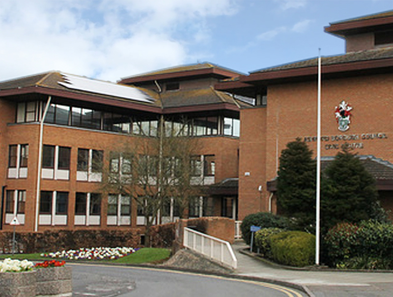 ISO Gap CCTV Control Room Borough Council