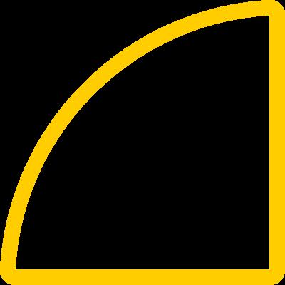 Quarter-Circle-yellow