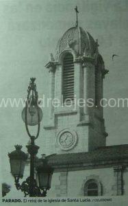 Reloj de la Iglesia de Santa Lucía