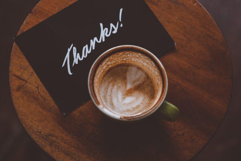 "Gratitude, the Impact of ""Thank You"""