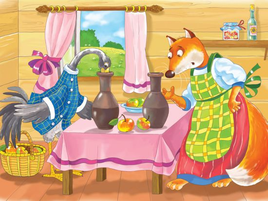 fox and crane story