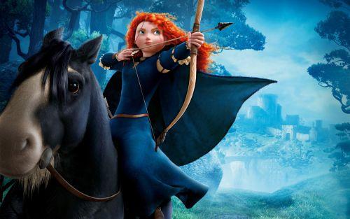 princess merida disney story
