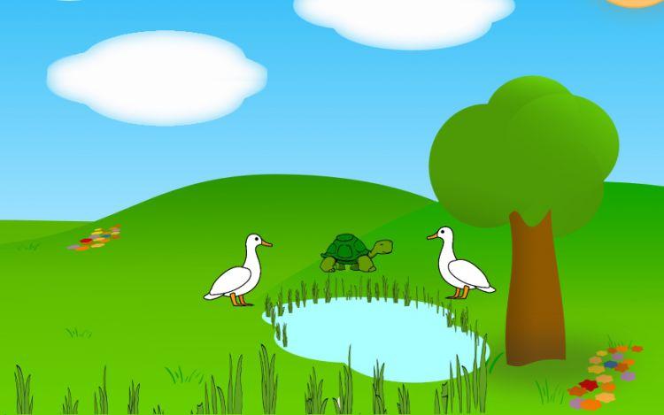 foolish tortoise story in english