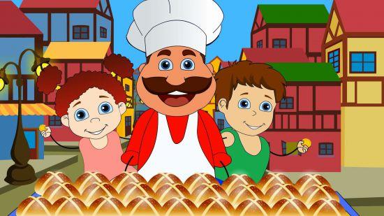 hot cross buns song
