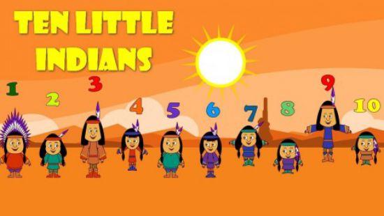 ten little indians poem