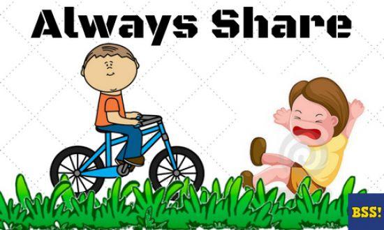 always share