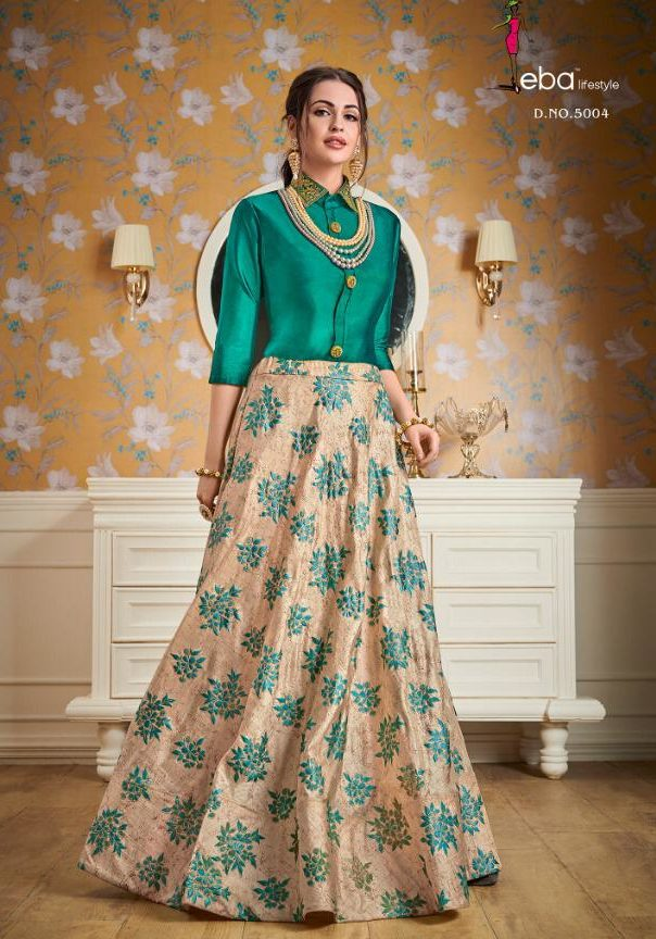 New Collection of Wedding Wear Top with Skirt
