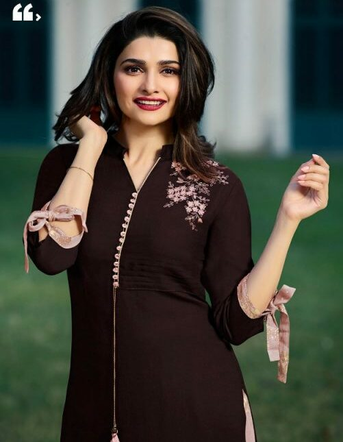 Palazzo Style Salwar Suits in Prachi Desai Style