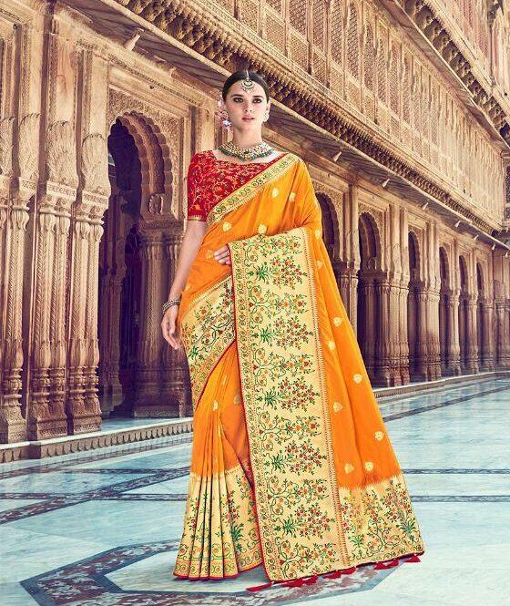Bridal Saree for Wedding Reception