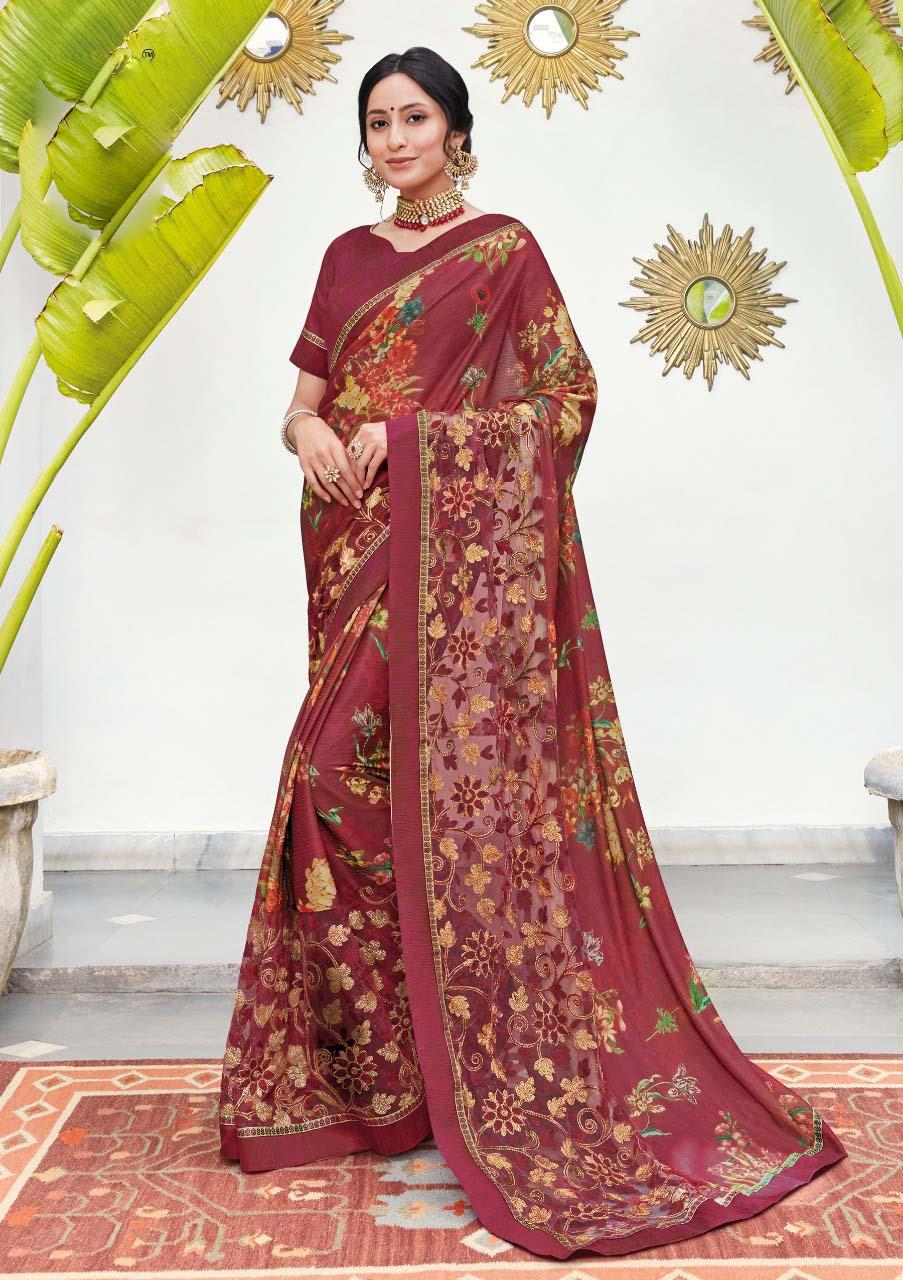 Soft Silk Saree Blouse Designs