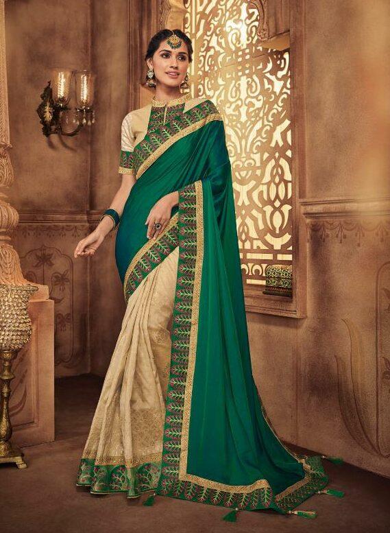 Latest Designer Fancy Sarees Wedding