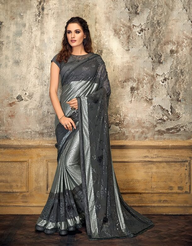 Latest Designer Party Wear Sarees with Price