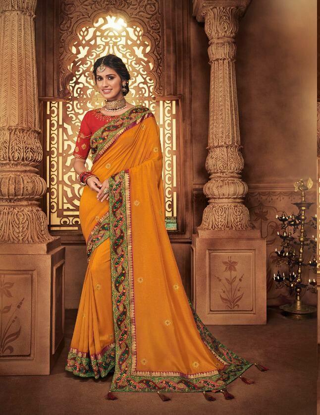 Latest Wedding Sarees Collection