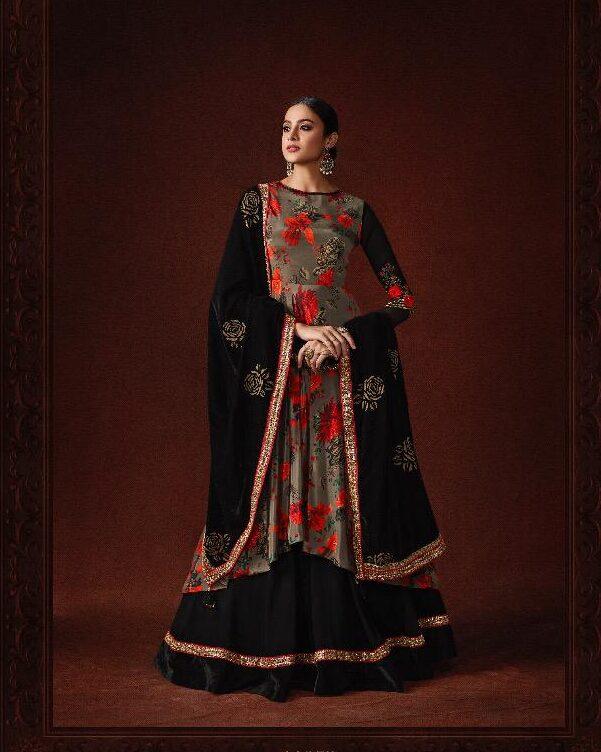 Party Wear Latest Mugdha Dress in Black