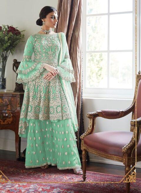 Party Wear New Sharara Dress Designs