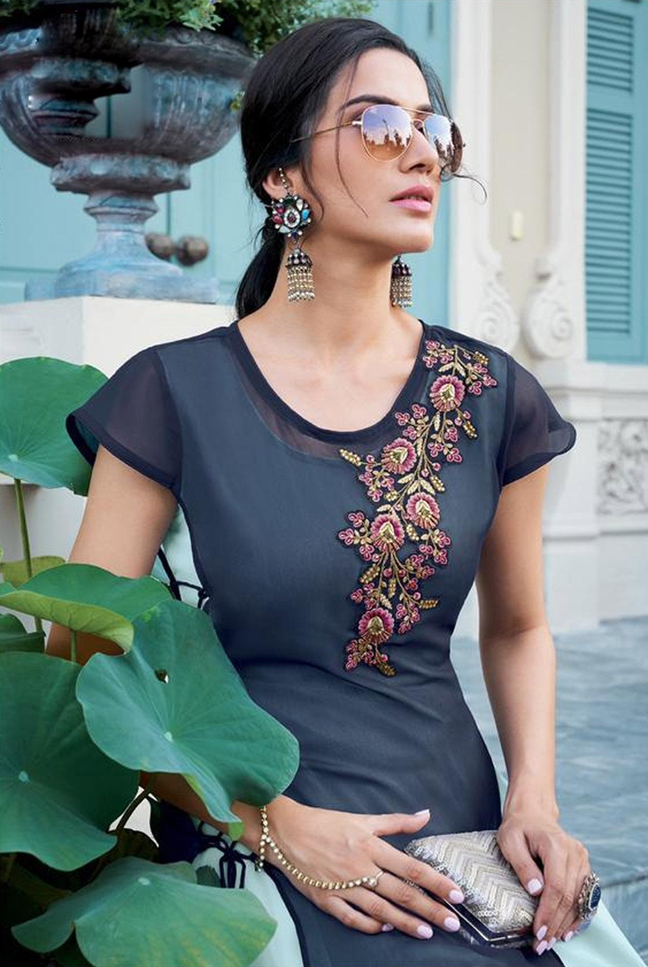 Indo Western Wedding Dress for Ladies