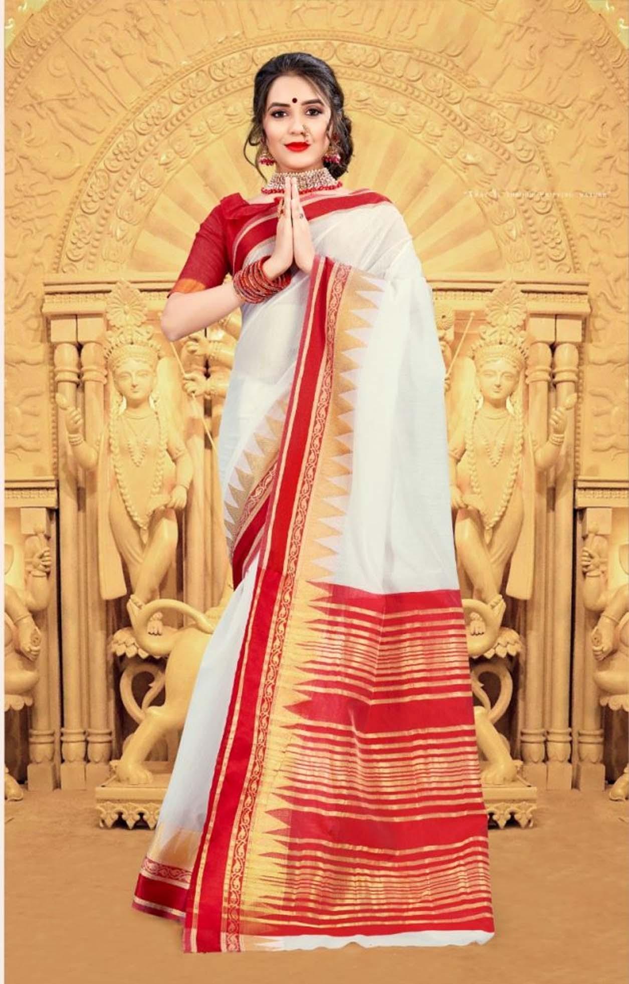 Durga Puja Special Saree 2020