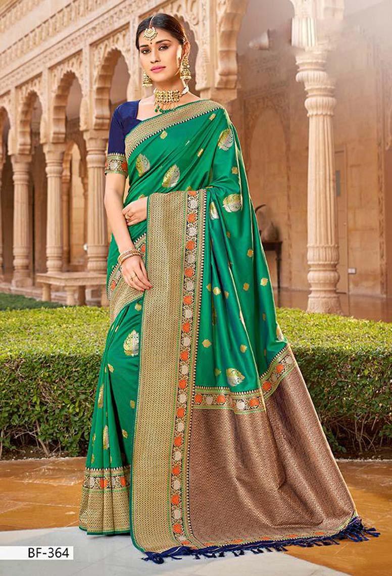 Latest Pure Silk Saree for Wedding Wear