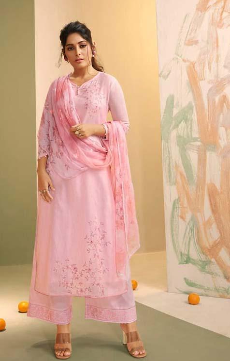 Royal Essence Designer Linen Ladies Suits Online