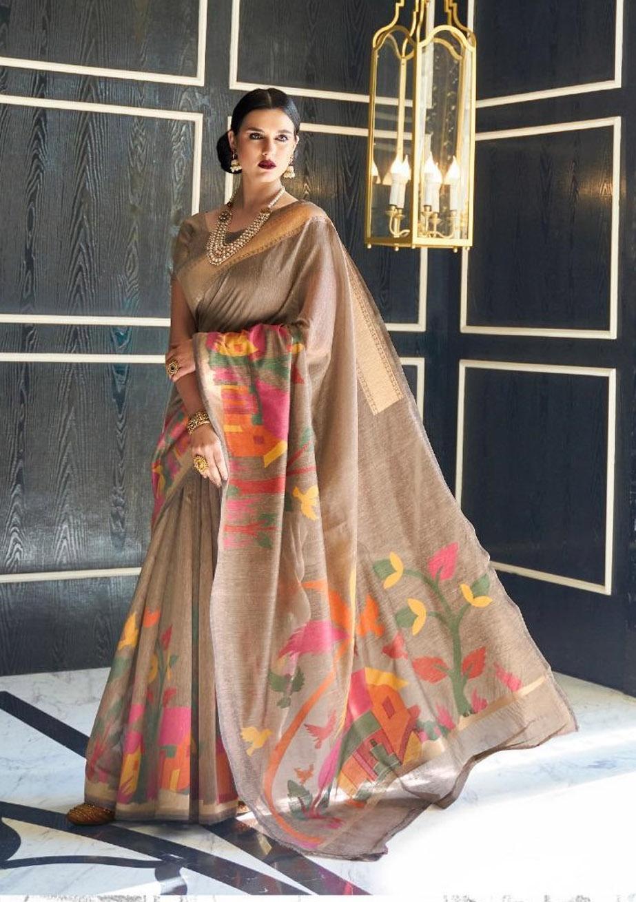 Linen Sarees Coimbatore