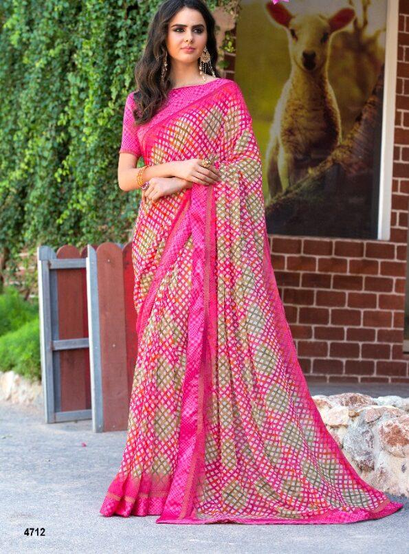 Latest Designer Offcie Wear Saree Look
