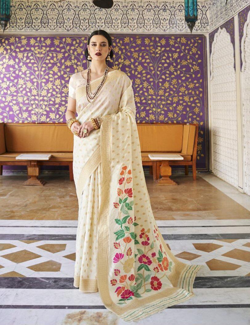 Latest Silk Sarees Designs