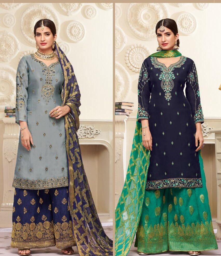 Duo Karwa Chauth Dresses for Devrani Jethani