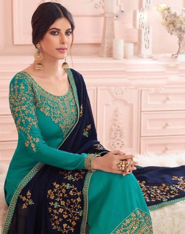 Latest Designer Punjabi Suits Party Wear