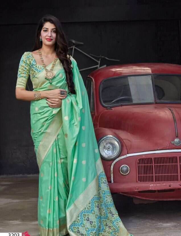 Latest Traditional Best Saree Design Party Wear