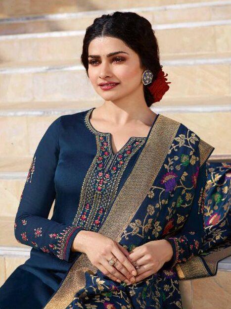 New Designer Blue Color Best Salwar Suit With Price.
