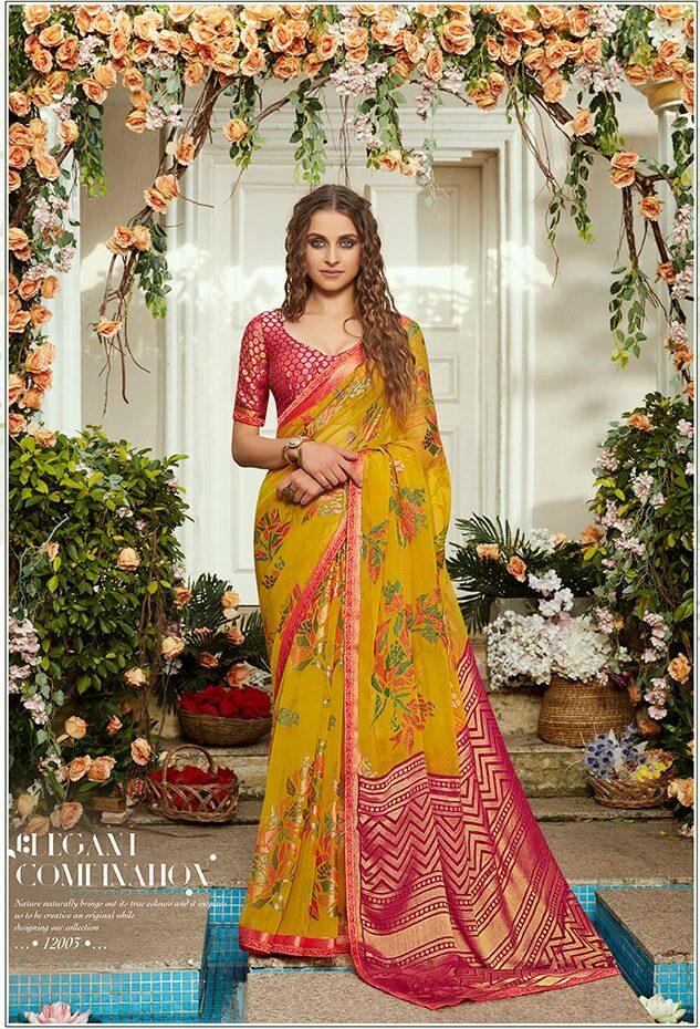 Shahi Libas Beautiful Latest Collection Sarees