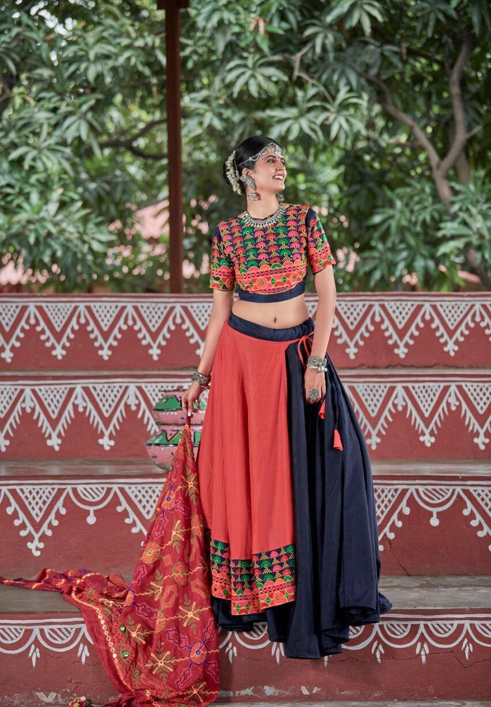 New Chaniya Choli Style Navratri 2020