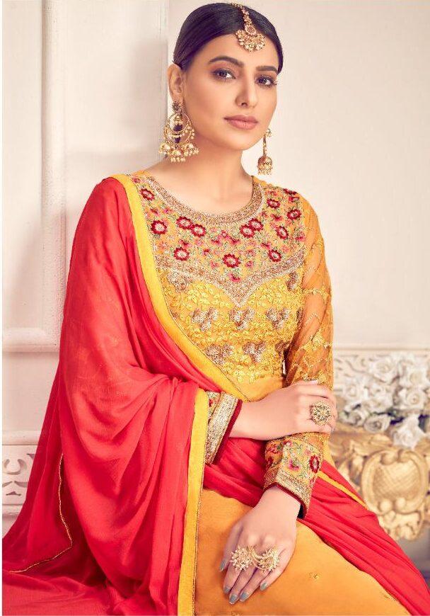 Party Wear Salwar Suits Style Chhoti Sardarni