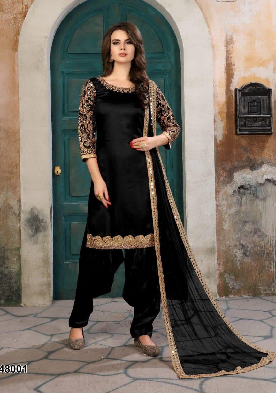 Latest Designer Patiala Suits for Ladies