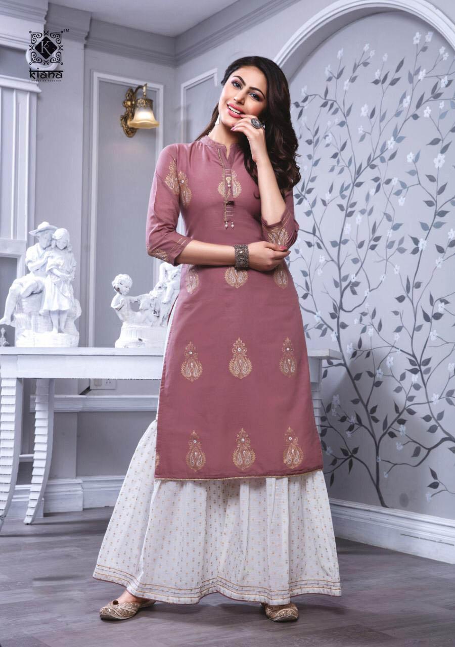 New Trend Designer Light Pink Color Woolen Suit Ladies.