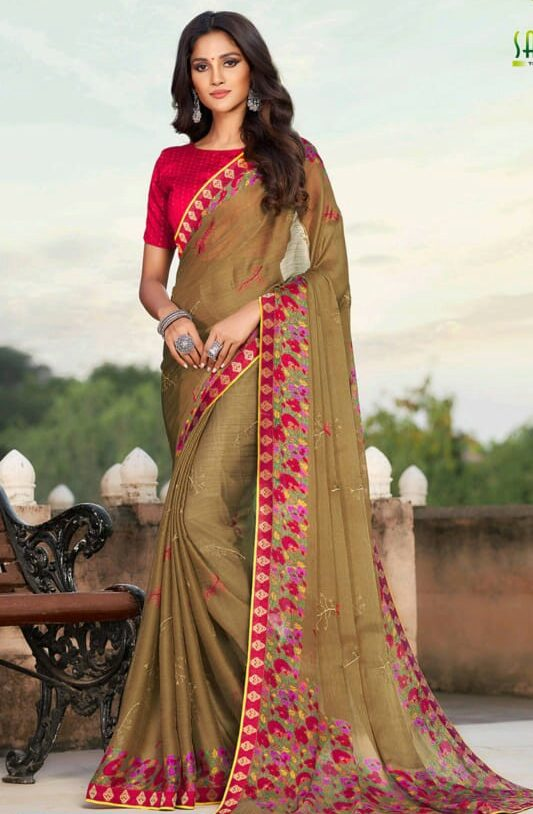 New Designer Saree for Party Wear