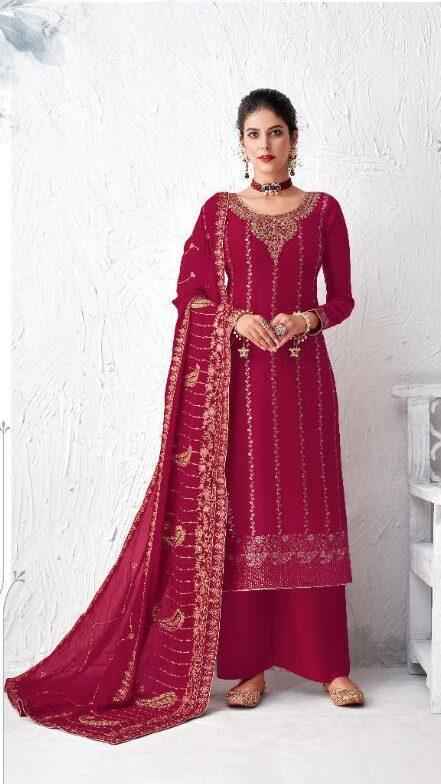 New Pink Color Salwar Suit Online Shopping