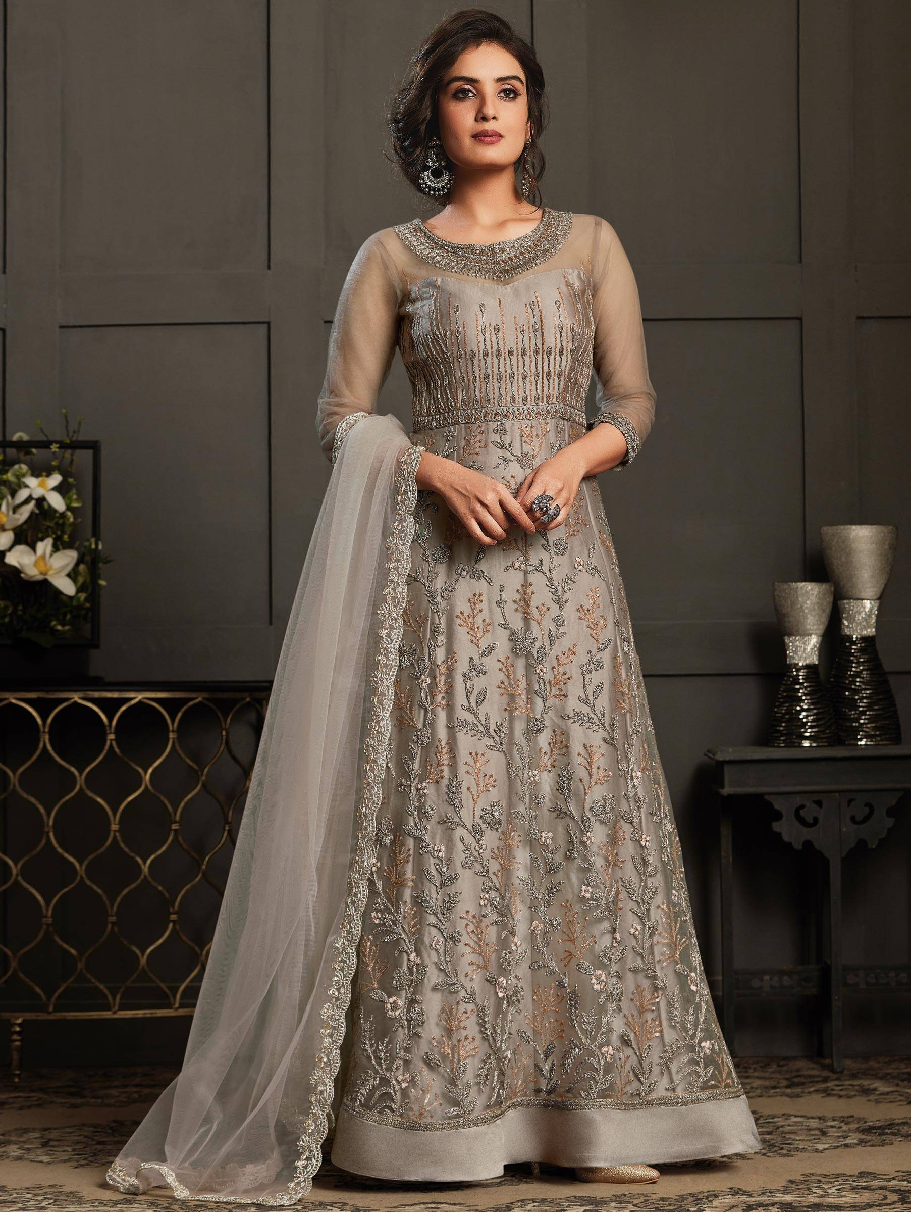 Anarkali Suits For Engagement