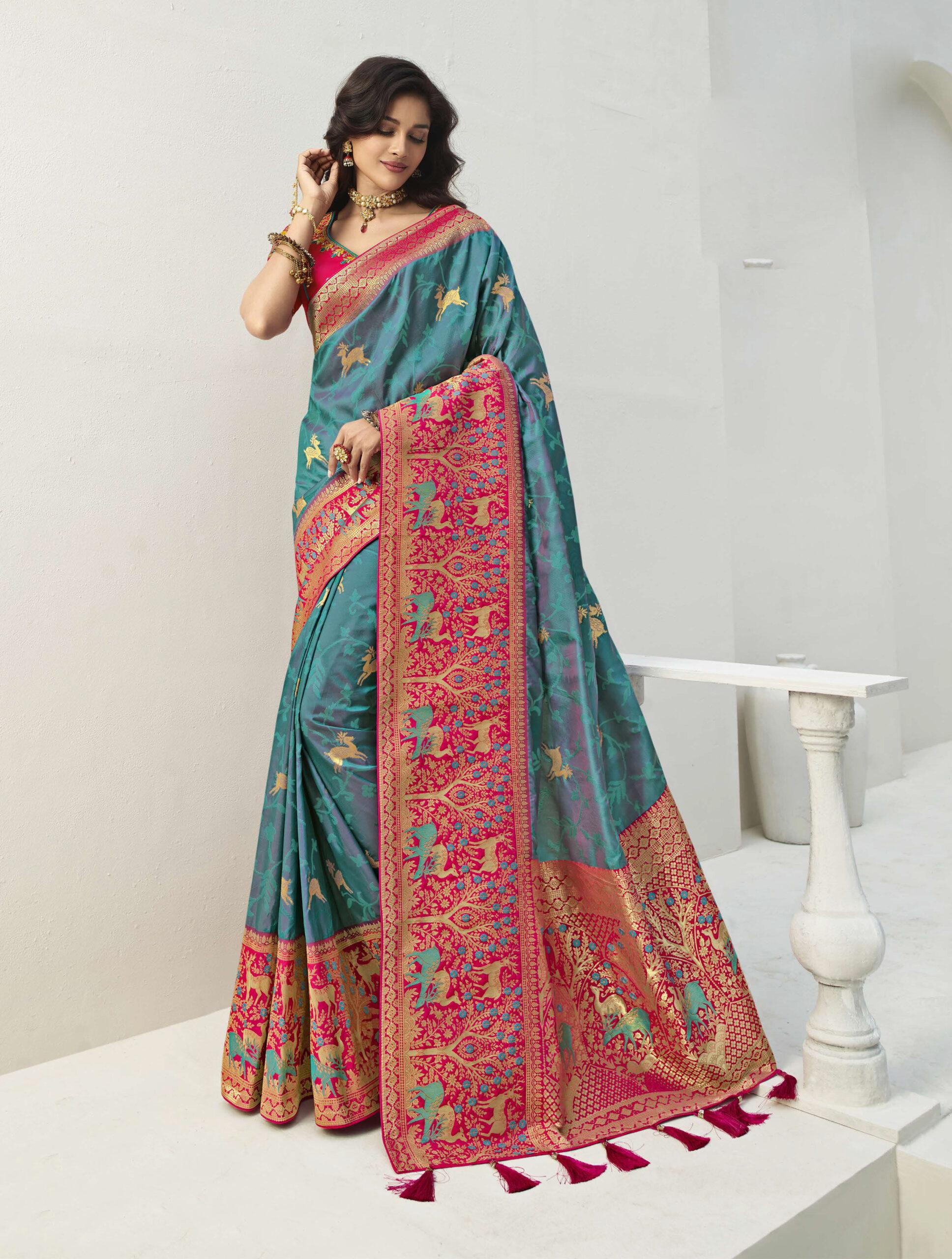 Banarasi Silk Latest Saree Trends 2021