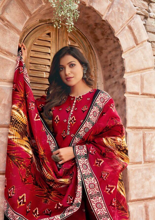 Best Designer Jaipuri Cotton Suits Online Shopping