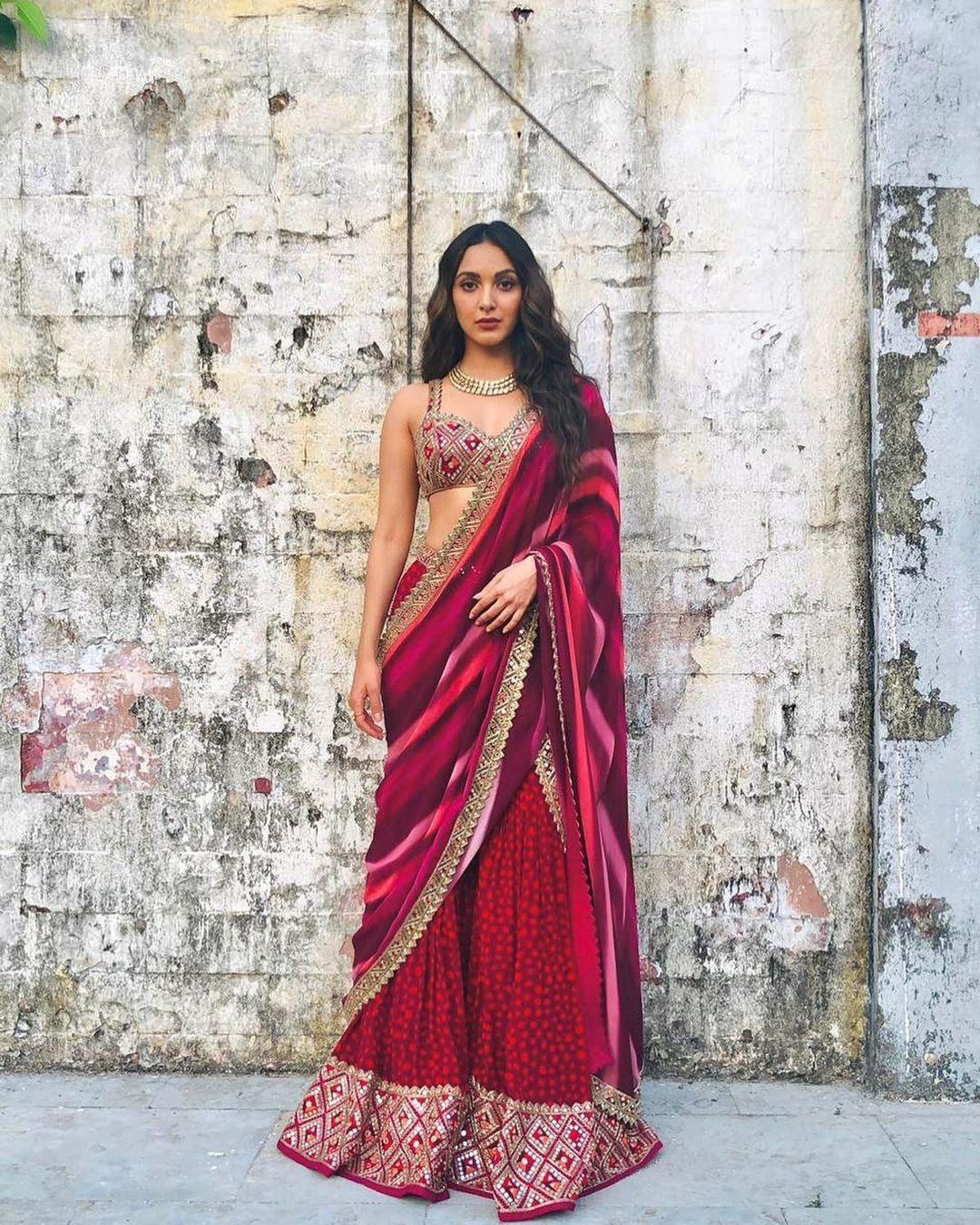 Kiara Advani Saree Images