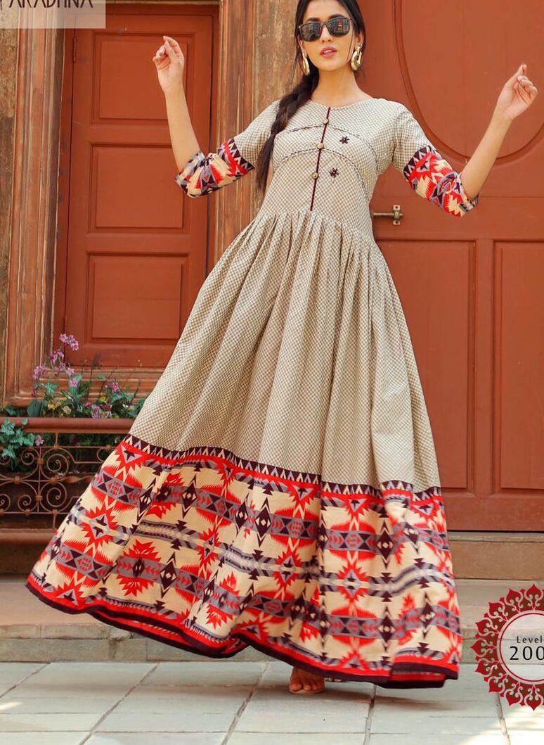 Best Latest Designer Stylish Cotton Kurti Design 2021