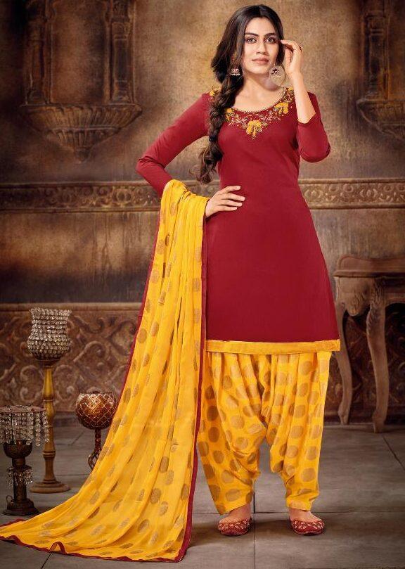 Punjabi Patiala Suit Design 2021