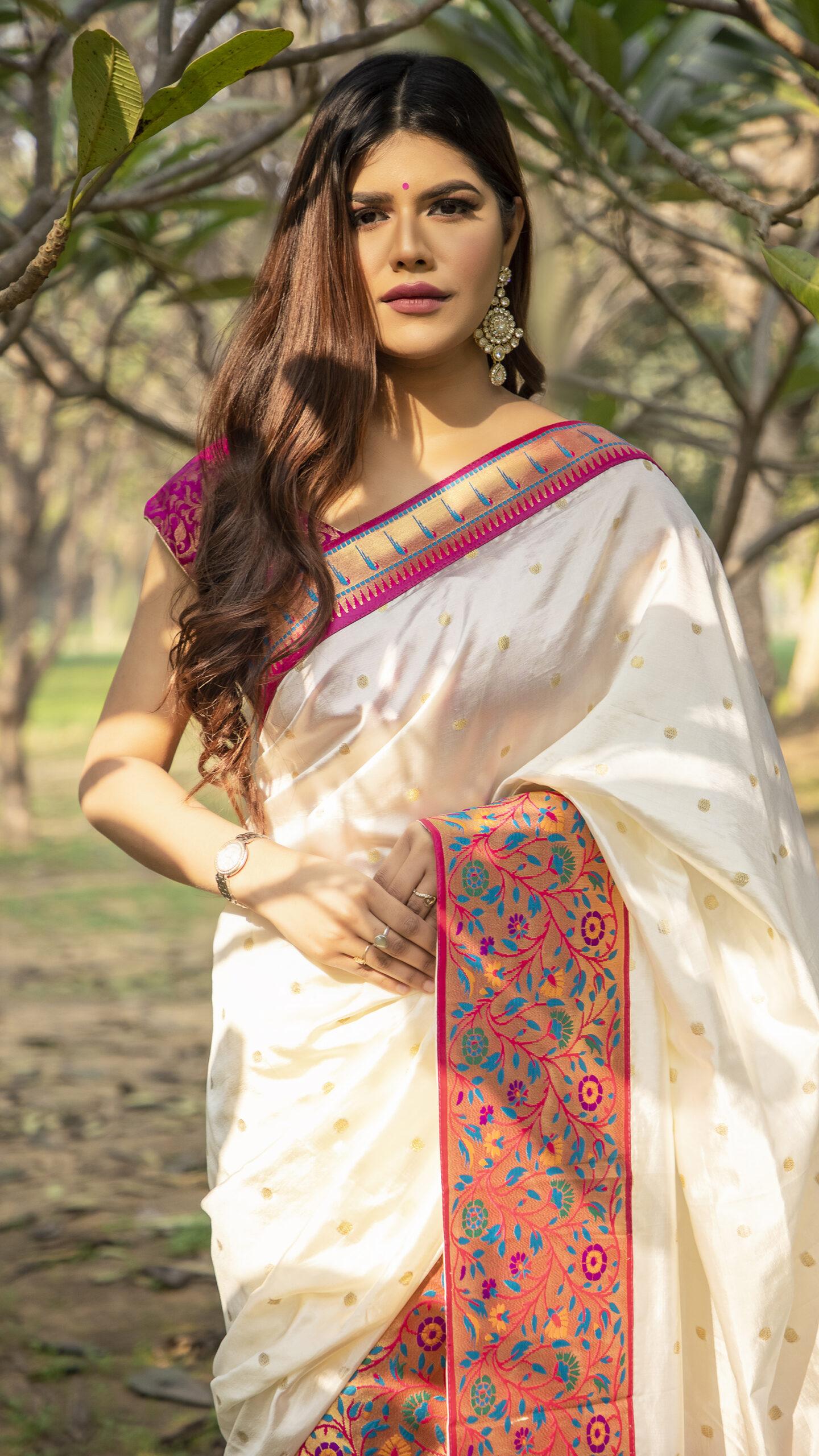 Soft Silk Sarees Online in SHAHIFITS