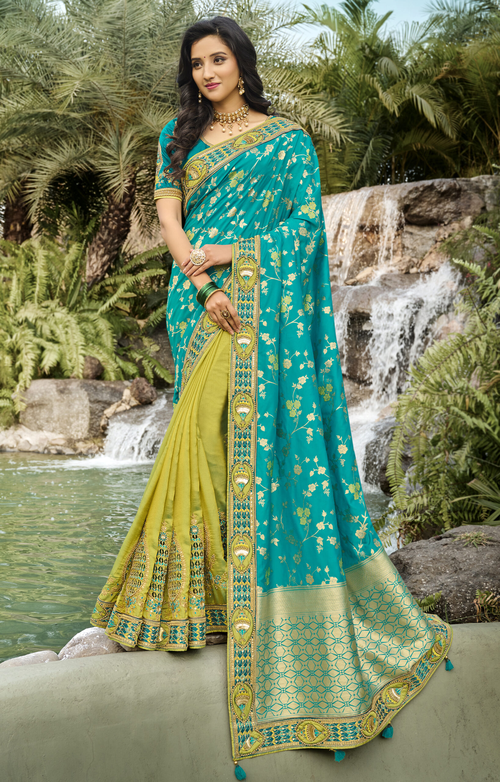 Latest Designer Saree for Wedding Party