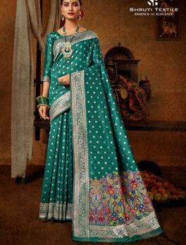 Green Silk Saree Under 2000