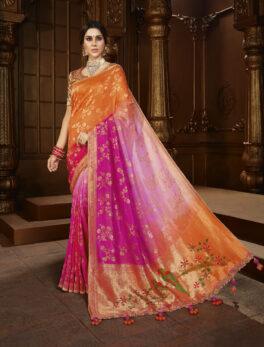 Silk Saree Design New 2021