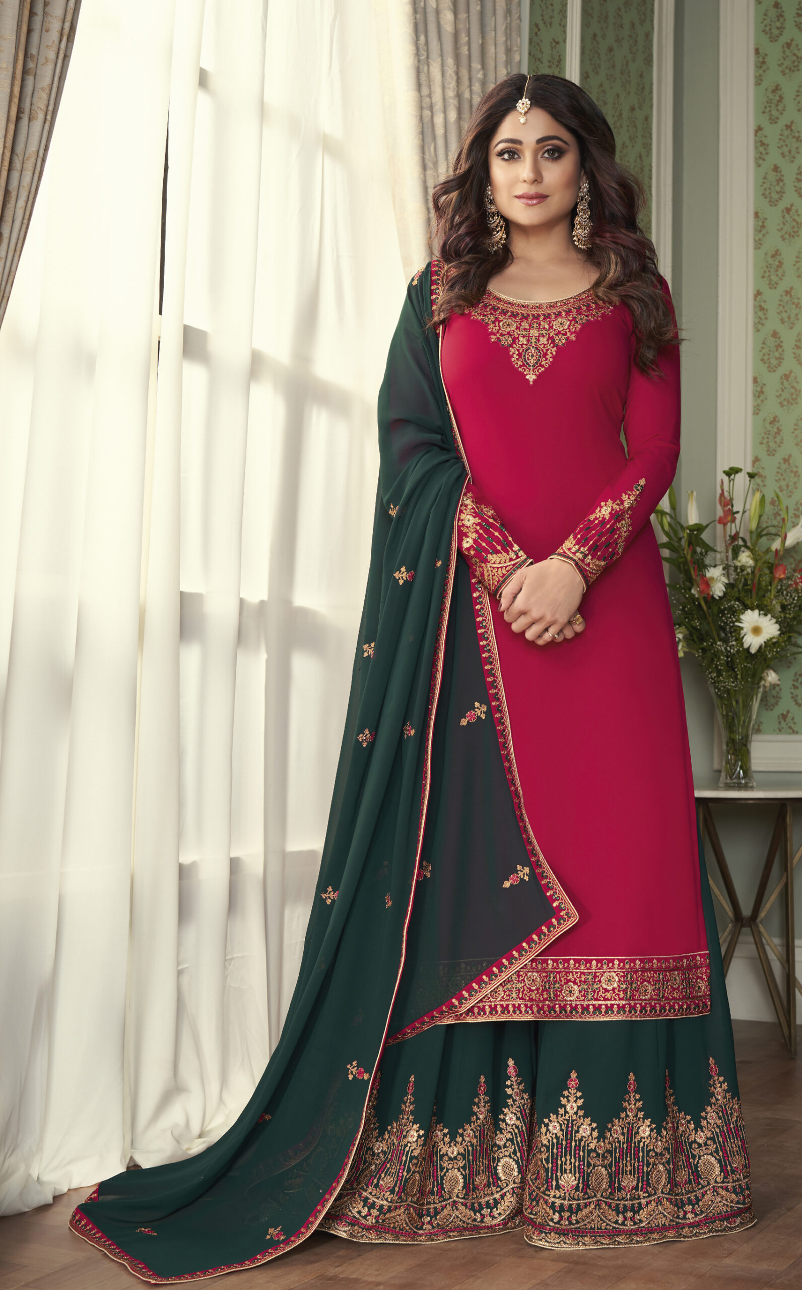 Contrast Punjabi Suits Design Latest